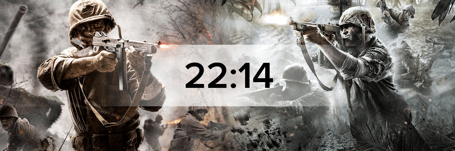 Call of Duty: World at War Hostbanner