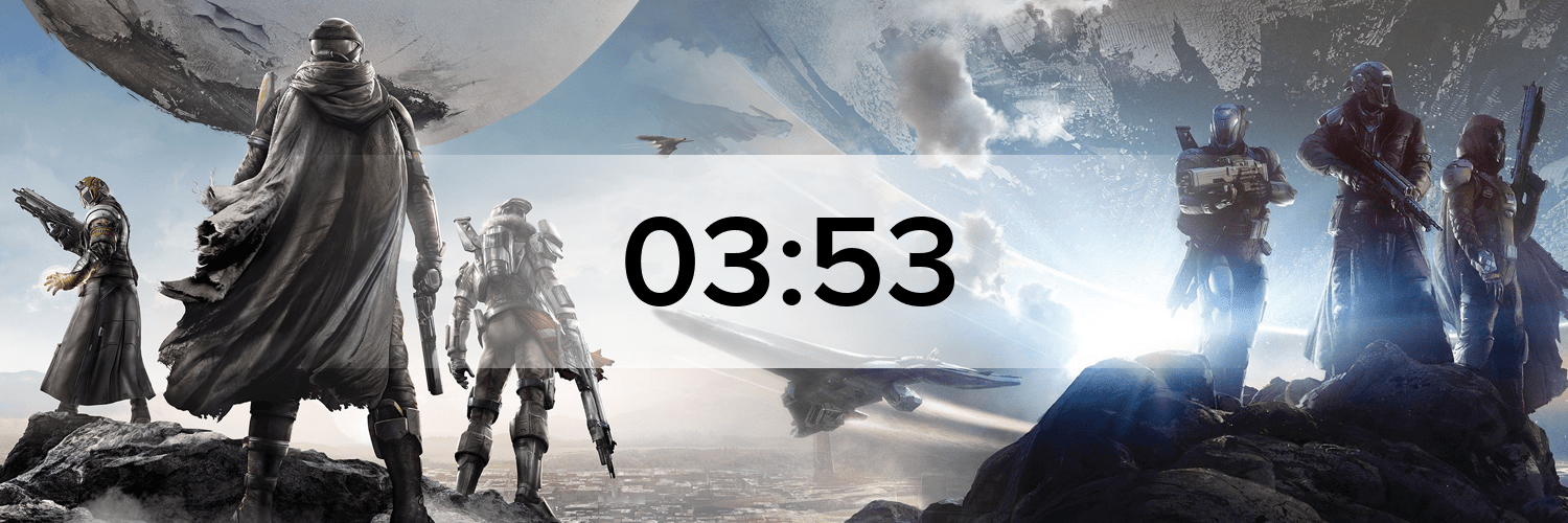 Destiny Hostbanner