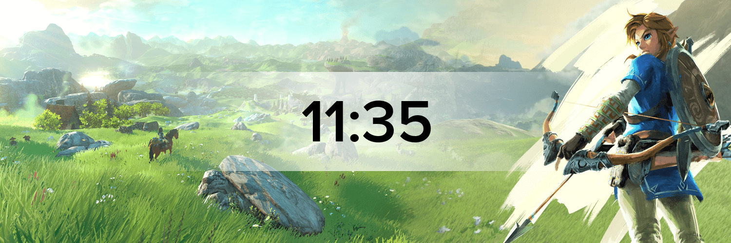 The Legend of Zelda: Breath of the Wild Hostbanner
