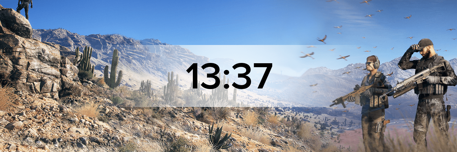 Tom Clancy's: Ghost Recon Wildlands Hostbanner