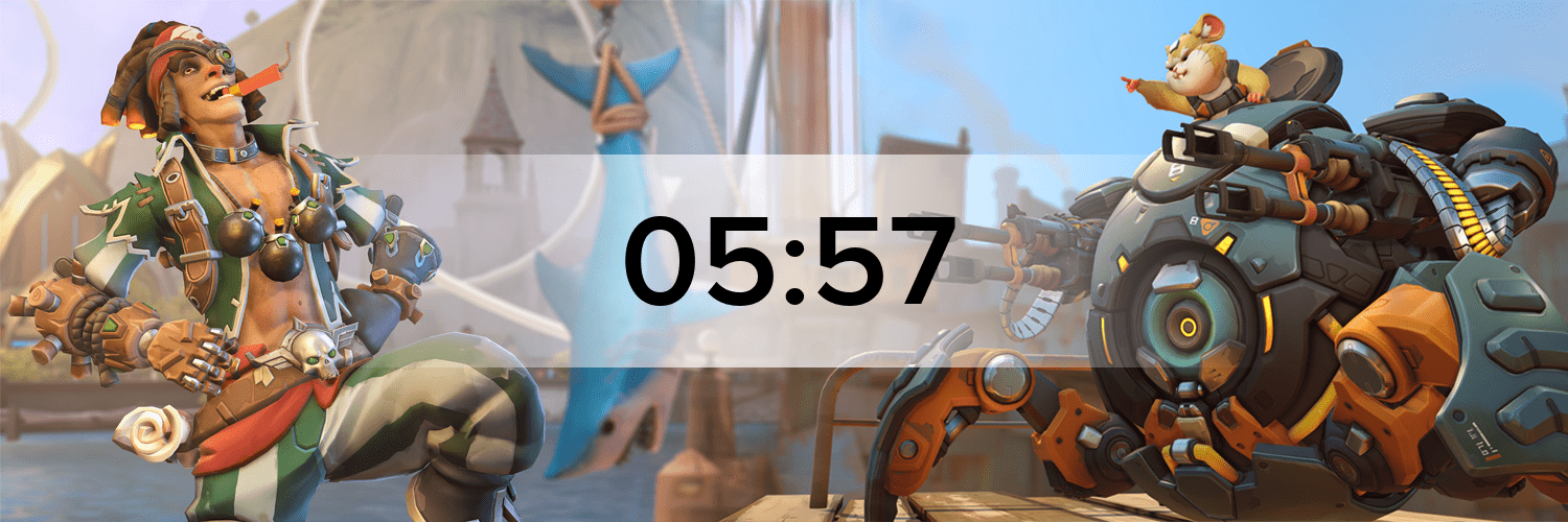 Overwatch - Variante 4 Hostbanner