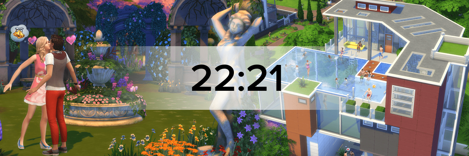 Die Sims 4 Hostbanner