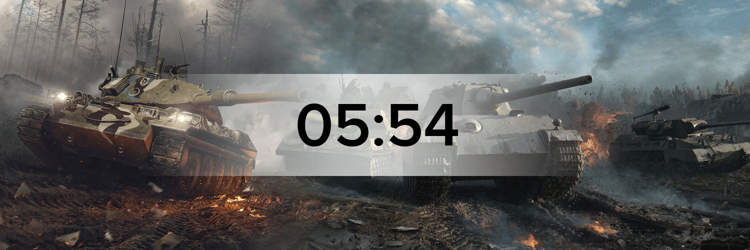 World of Tanks - Variante 3 Hostbanner